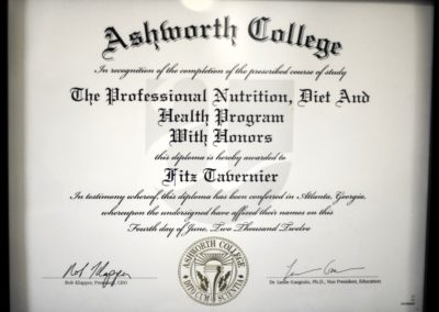 Professional Nutrition Diploma