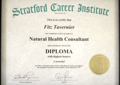 Natural Health Consultant Diploma